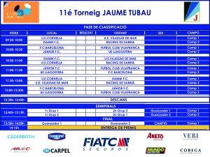 Calendari 11éTorneig Jaume Tubau_def 2017 copia
