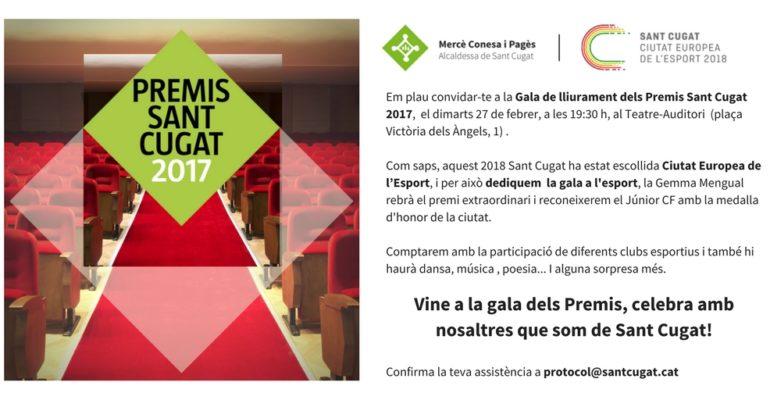 Gala Premis Sant Cugat